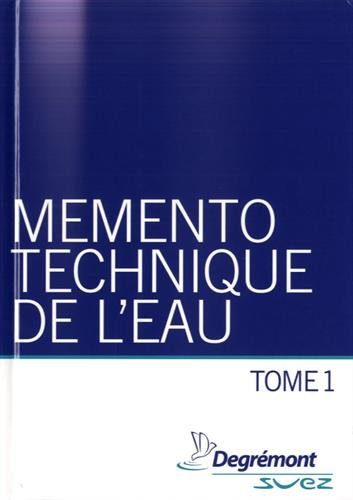 Mémento technique de l'eau, 2 volumes