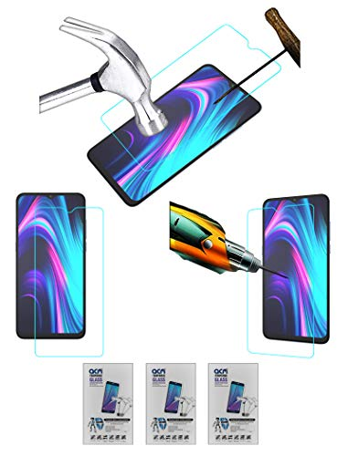 Acm Pack of 3 Combo Tempered Glass Screenguard Compatible with Micromax in 1B Mobile Screen Guard