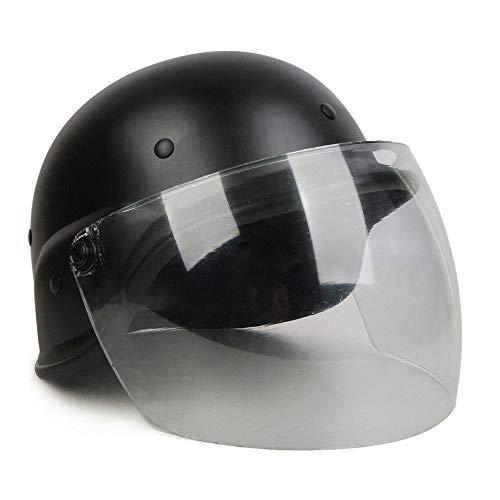 WLXW Paintball Taktischer Helm, M88 Kevlar Polizeihelm, Transparente Maske Explosionsgeschützte Maske, CS Rollenspiel Film Requisiten Bauarbeiter Kopfschutz