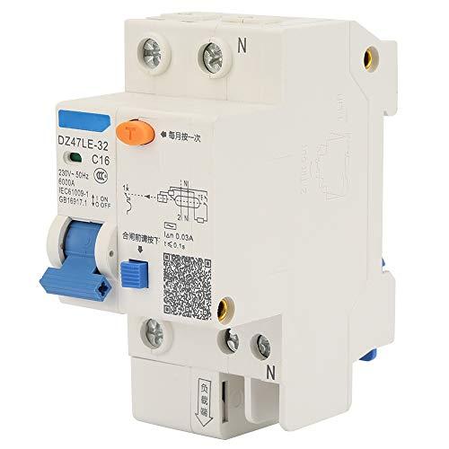 Interruptor de cortocircuito, 230 V con plástico, metal 16A, disyuntor de la caja moldeada 20A