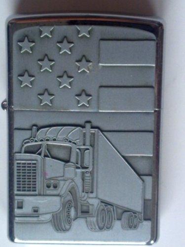 ZIPPO ® Feuerzeug American 18 Trucker Emblem