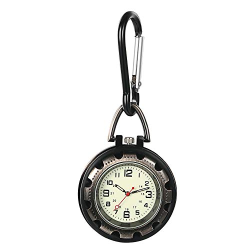 Avaner Luminous dial with Luminous dial, Luminous Pointer, Matte case, Carabiner Backpack, Buckle Watch