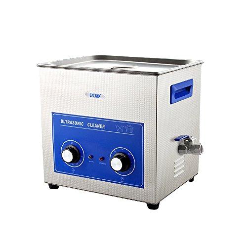 超音波洗浄機 超音波メガネクリーナー 業務用 大容量10L 加熱可能 時計クリーナー 超音波洗浄器