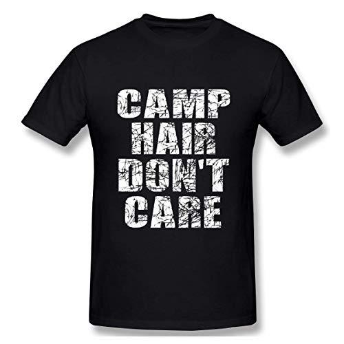 Camiseta de manga corta Dobre Lucas Basic para hombre, color negro