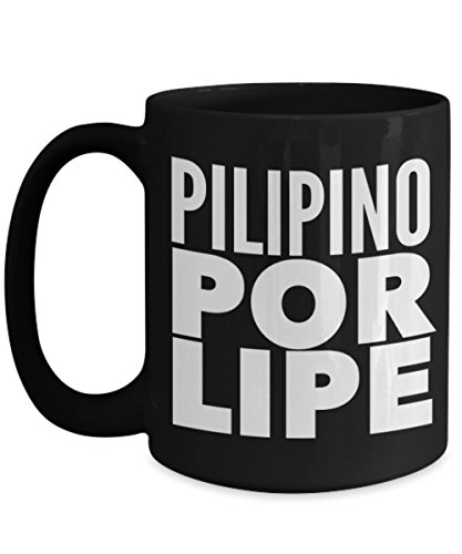 Pilipino Por Lipe | mug, Funny Coffee Mugs for Men | Filipino gifts for men | Filipino wedding gifts | Filipino coffee mug