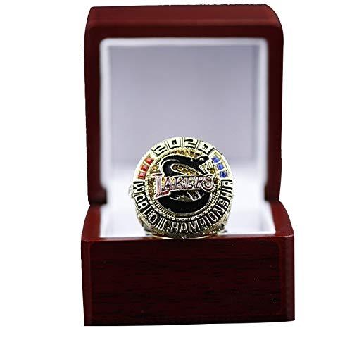 YANGLIXIA Campeonato de Baloncesto Anillo Lakers 2020 Fans Champion World Sports Super Bowl Anillos 11#