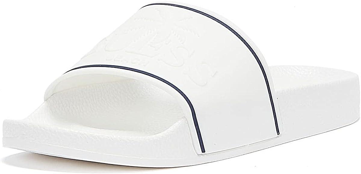 GUESS Beach Logo Womens White Slides