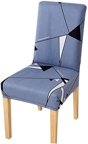 WNTHBJ Funda para silla de boda o comedor, fundas de silla lavables extraíbles de elastano elástico al aire libre sillones de respaldo alto protector de banquete decoración, Espacio, 1 unidad