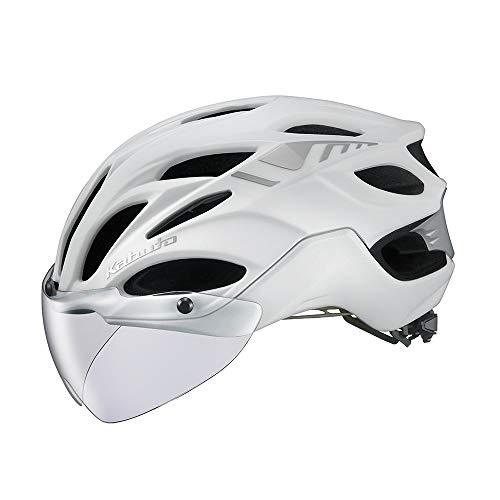 OGK KABUTO(オージーケーカブト) ヘルメット VITT (ヴィット) カラー:マットパールホワイト サイズ:XL/XXL ...