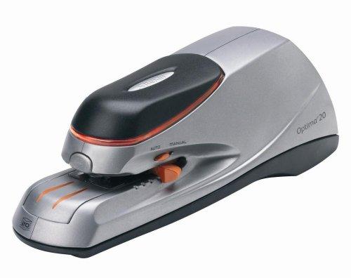 RAPID 2102351 - Grapadora eléctrica OPTIMA 20 color plata/negro