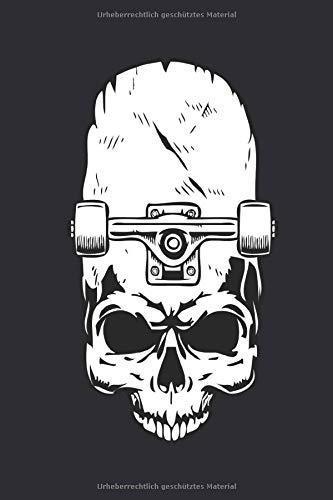 Skateboard Notizbuch: Perfektes Geschenk für Skateboarder und Longboarder