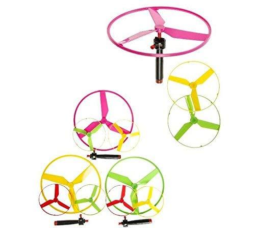 KSS Neu Fliegende Untertasse Kreisel bis zu 10 mtr. hoch , ca 19 cm Durchmesser