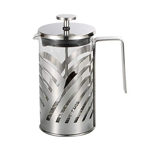 gfjfghfjfh Edelstahl French Press Kaffeemaschine Isolierte Kaffee Tee Brühertopf Cafetiere Percolator Werkzeug Mit Filterkörben