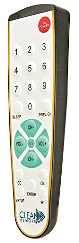 Clean Remote CR3BCB Universal TV Remote - Pack of 25