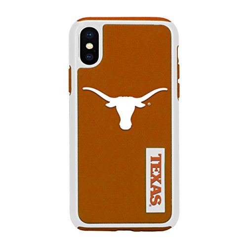 Forever Collectibles iPhone XS/X 5.8' Screen Only Dual Hybrid Impact Licensed Case - NCAA Texas Long Horns