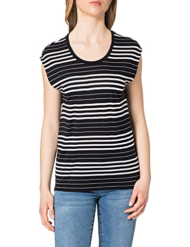ESPRIT Collection 021EO1K310 Camiseta, 001/Black, XL para Mujer