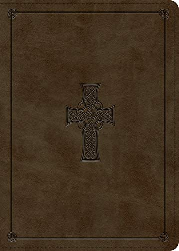 ESV MacArthur Study Bible (TruTone, Olive, Celtic Cross Design)