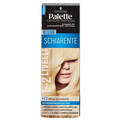 Schwarzkopf, Palette Cool Blonds, Colorazione Permanente con Tecnologia SalonPlex, Blond Spray  H3