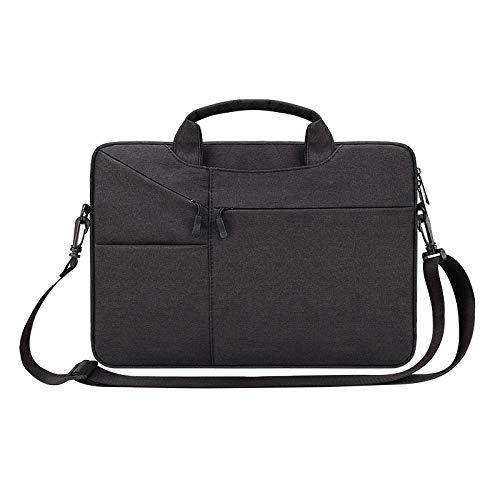 Práctico Bolsa de Ordenador portátil Impermeable Mujeres 13.3 15.6 Caso de 16 Pulgadas para MacBook Air Pro 13 14 15 Bolsas para la Manga de la Cremallera del Cuaderno