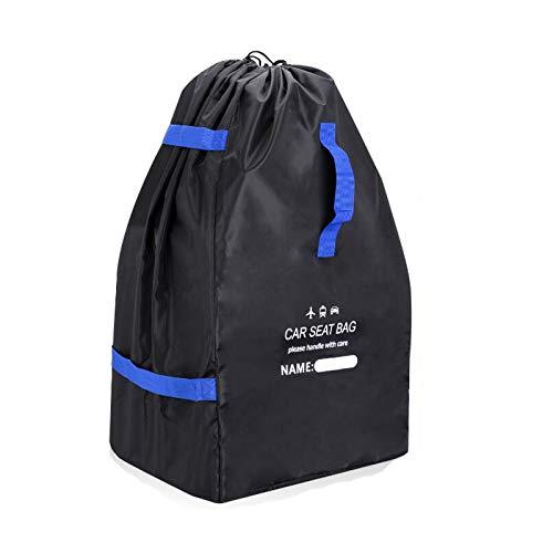 LGYKUMEG Kinder Beanbag robuste Transporttasche für Kindersitz Schutz wasserdicht staubdicht Vandalismus Tragetasche passend für die meisten Marken,Black Blue