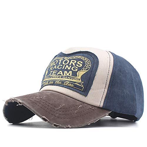 Gorra De Beisbol, SUNNSEAN, Hombres Mujer BéIsbol Gorra Casual Al Aire Libre Deportes De Moda Ajustable De Apliques Carta NúMero Bordado Baseball Cap Hat Outdoor Hat
