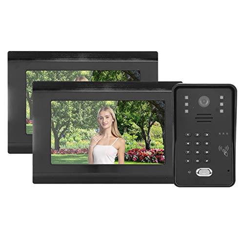 Videoportero con 2 monitores, para Seguridad en la Oficina(European regulations)