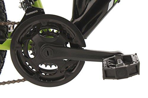 KS Cycling Fahrrad Mountainbike MTB Fully Zodiac, Schwarz/Gruen, 26 Zoll, 321M - 2