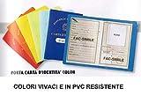 CF.24 PORTA CARTA IDENTITA C/CUSTODIA B210TN x1