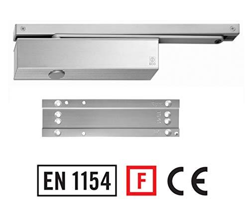 Türschließer TS-61 B mit Montageplatte u. Gleitschiene Brandschutz zertifiziert