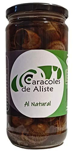 Caracoles cocidos al natural