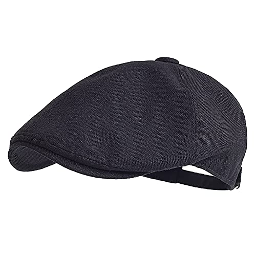 JAOAJ Hombres Sombreros Boinas,Casquillo Plano Sombreros,Mujer Flat Cap,Gorra Irlandesa de Hombre,Beret Cap Newsboy Hat