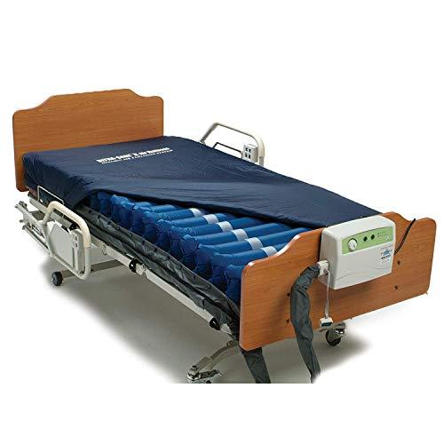 Meridian Ultra-Care II Alternating Pressure Mattress & Pump System - Hospital Bed Mattress with 16LPM Air Pump