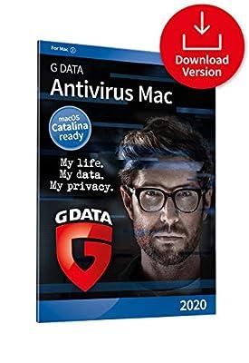 G DATA Antivirus Mac 2020 | 10 Macs | 1 Year | Anti-virus for Apple Mac, Macbook, iMac, macOS Catalina | Download Code