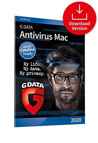 G DATA Antivirus Mac 2020 | 3 Macs | 1 Year | Anti-virus for Apple Mac, Macbook, iMac, macOS Catalina | Download Code