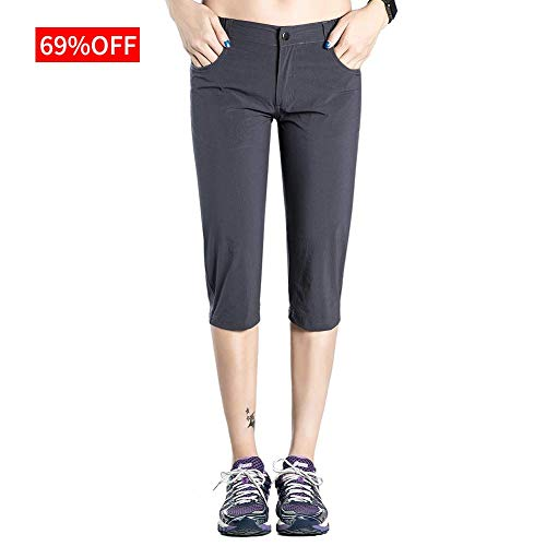 Hopgo Women's Quick Dry Outdoor Capri Pants...