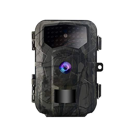 Riiai 32 MP Wildkamera, Jagdkamera mit 60 ° Weitwinkel-Bewegung, neueste Sensoransicht 0,7 s Auslösezeit Trail Game Kamera mit 940 nm No Glow und IP66 Wasserdicht 2,0 Zoll LCD