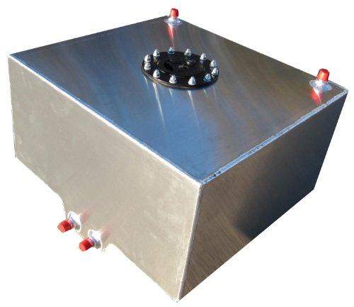 RCI 2010A Aluminum Fuel Cell 1 Gallon Natural Aluminum Color 6L x 6W x 6H