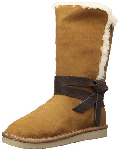 Koolaburra by UGG Women's Rozalia Tall Fashion Boot, Chestnut, 06 M US