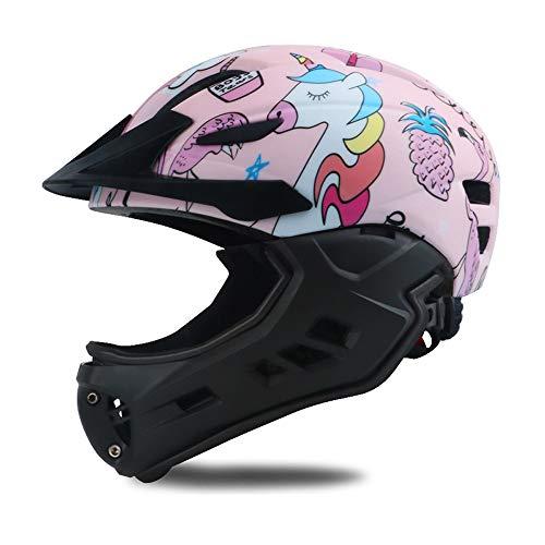 ZHXY Fahrradhelm Kinder Helm fahrradhelme radhelm Damen Kinder Sporthelm,Skaterhelm Fahrradhelm Scooter Helm Radhelm Sicherheit für Mädchen Junge Unruhhelm Halbhelm Vollhelm
