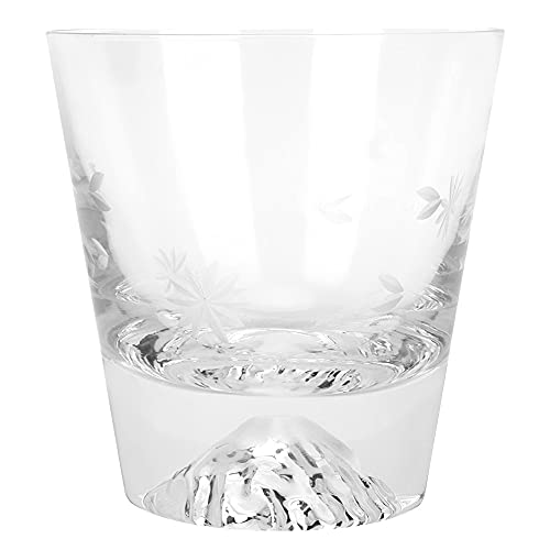 Taza de whisky, material de vidrio de vino sin origen de vidrio de 9 x 9,5 cm para uso de barra de casa
