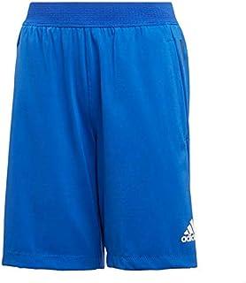 Adidas Heat Ready Elastic-Waistband Side-Logo Sport Shorts for Boys