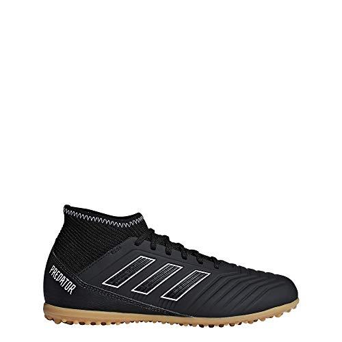 adidas Unisex-Kinder Predator Tango 18.3 TF Fußballschuhe, Schwarz (schwarz schwarz), 37 1/3 EU