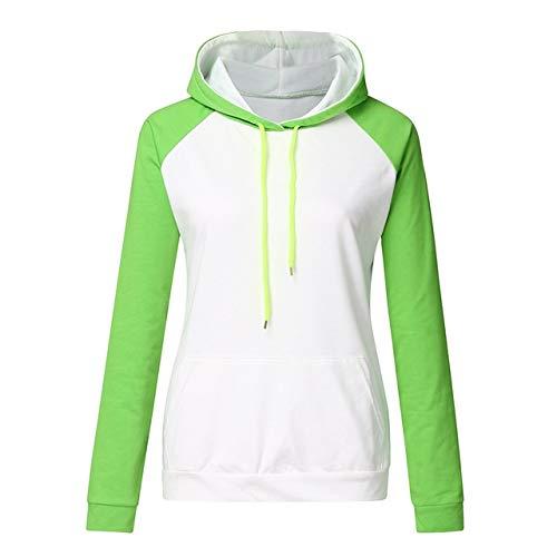 ZCMWY Hoodie Sport Vrouwen Lente Hoodie Pullover Tops Casual Patchwork Print Witte Blouse Oversized Hoodie Hooded Vrouwen Kleding