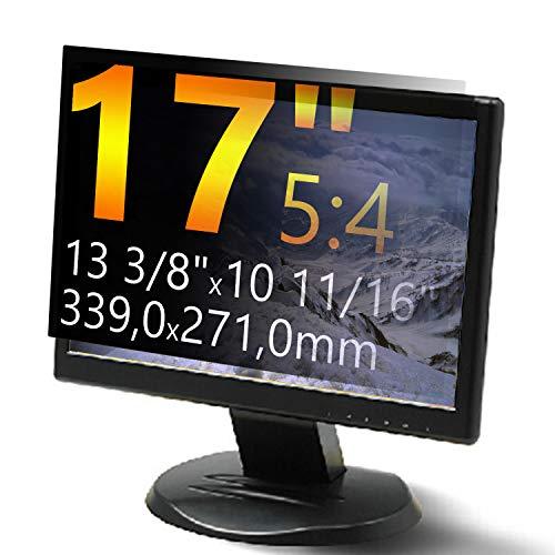 Xianan 17 Zoll Standardbildschirm 5:4 Displayfilter Bildschirmfilter Blickschutzfilter Blickschutzfolie Blickschutz Sichtschutz 13,35x10,67zoll/339x271mm