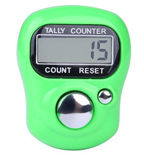 AMhomely® Anzahl Schritte Rekorder 2019 Laufrekord-Tool Digit Digital LCD Elektronische Finger Hand Ring Stricken Row Tally Counter