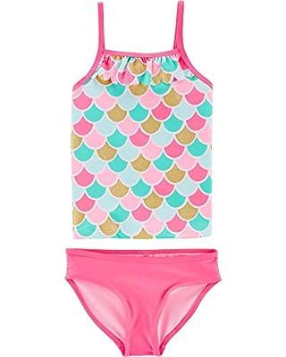 Carter's Baby-Girls Swimwear Set (Mermaid Tankini, 3t)