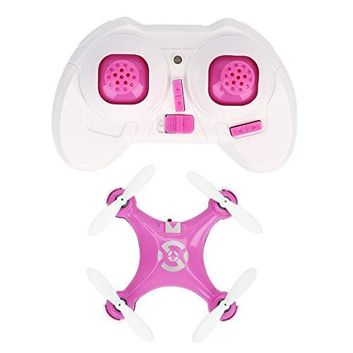 Zantec Regalo di Compleanno Giocattolo Drone telecomandato Cheerson CX-10 CX10 Mini 2.4G 4CH 6 Assi LED RC Quadcopter RTF Rosa