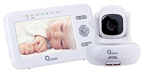 "ORICOM Secure 850 SC850 2.4GHZ 4.3"" Video Monitor with MOTORISED PAN-TILT Camera"