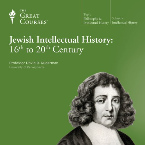 Jewish Intellectual History: 16th to 20th Century cover art