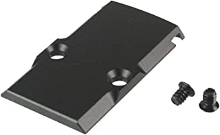 TWP Aluminum Anodized Black RMR Cover Plate for Glock 17 19 26 Cut Slides